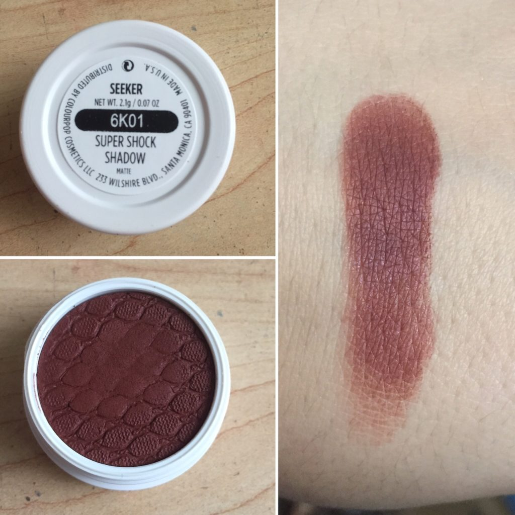 colourpop fall 2016 swatches eyeshadow swatch seeker